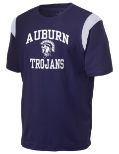 Auburn High School Trojans Holloway Men's Rush T-Shirt