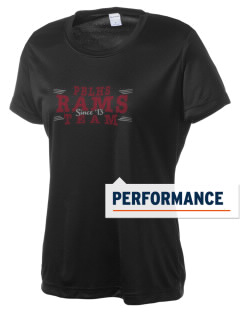 Palm Beach Lakes Community High Rams Women's Competitor Performance T-Shirt