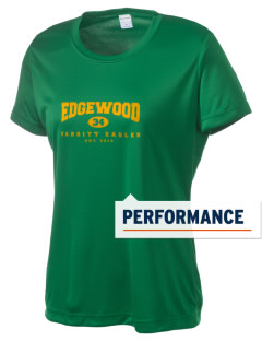 Edgewood Elementary School Eagles Women's Competitor Performance T-Shirt
