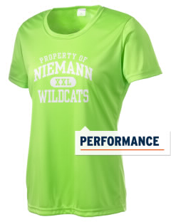 Niemann Elementary School Wildcats Women's Competitor Performance T-Shirt