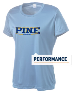 Pine Elementary School Panthers Women's Competitor Performance T-Shirt