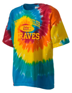 William H English Middle School Braves Kid's Tie-Dye T-Shirt