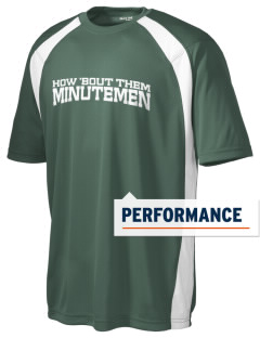 Concord High School Minutemen Men's Dry Zone Colorblock T-Shirt