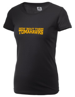 Battle Ground Middle School Tomahawks  Russell Women's Campus T-Shirt