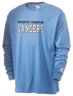 Meservey-Thornton School Lancers  Russell Men's Long Sleeve T-Shirt