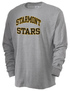 Starmont Elementary School Stars  Russell Men's Long Sleeve T-Shirt