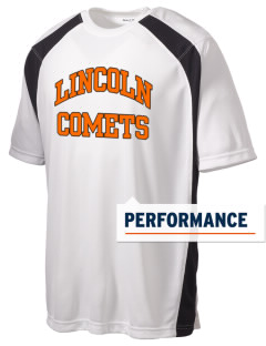 Lincoln Elementary School Comets Men's Dry Zone Colorblock T-Shirt