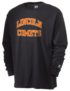 Lincoln Elementary School Comets  Russell Men's Long Sleeve T-Shirt