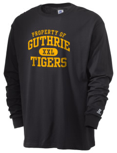 Guthrie Center Junior High School Tigers  Russell Men's Long Sleeve T-Shirt