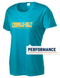 Lynnville-Sully Elementary School Hawks Women's Competitor Performance T-Shirt