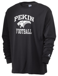 Pekin Community High School Panthers  Russell Men's Long Sleeve T-Shirt