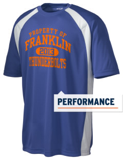 Franklin Middle School Thunderbolts Men's Dry Zone Colorblock T-Shirt