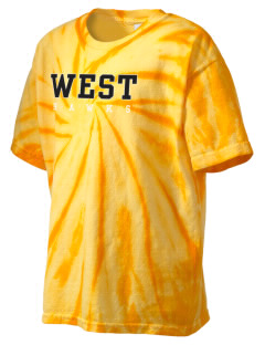 West Elementary School Hawks Kid's Tie-Dye T-Shirt