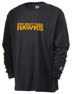 West Elementary School Hawks  Russell Men's Long Sleeve T-Shirt