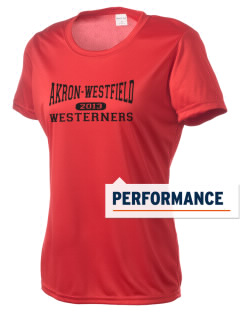 Akron-Westfield Community School Westerners Women's Competitor Performance T-Shirt