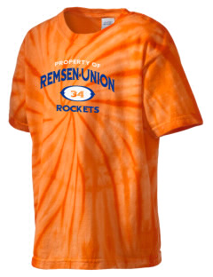 Remsen-Union Community School Rockets Kid's Tie-Dye T-Shirt