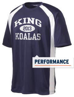 King Elementary School Koalas Men's Dry Zone Colorblock T-Shirt