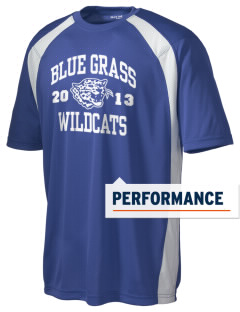 Blue Grass Elementary School Wildcats Men's Dry Zone Colorblock T-Shirt
