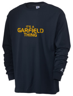 Garfield Elementary School Cubs  Russell Men's Long Sleeve T-Shirt