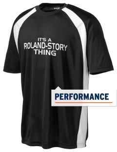 Roland-Story High School Norsemen Men's Dry Zone Colorblock T-Shirt