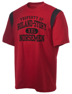 Roland-Story High School Norsemen Holloway Men's Rush T-Shirt