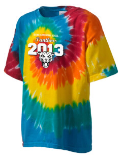 Irving Elementary School Panthers Kid's Tie-Dye T-Shirt
