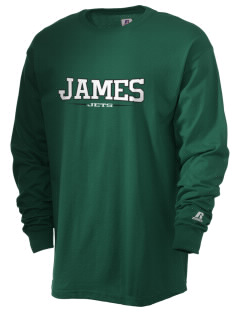 James Elementary School Jets  Russell Men's Long Sleeve T-Shirt