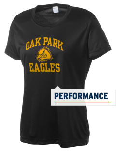 Oak Park Elementary School Eagles Women's Competitor Performance T-Shirt