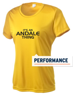 Andale High School Indians Women's Competitor Performance T-Shirt