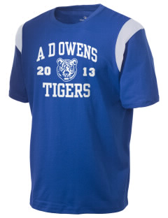 A D Owens Elementary School Tigers Holloway Men's Rush T-Shirt