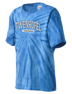 Twenhofel Middle School Thoroughbreds Kid's Tie-Dye T-Shirt