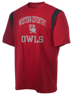 Western Coventry Elementary School Owls Holloway Men's Rush T-Shirt