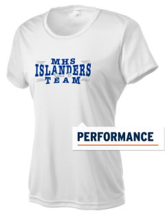 Middletown High School Islanders Women's Competitor Performance T-Shirt