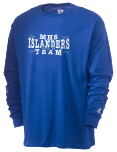 Middletown High School Islanders  Russell Men's Long Sleeve T-Shirt
