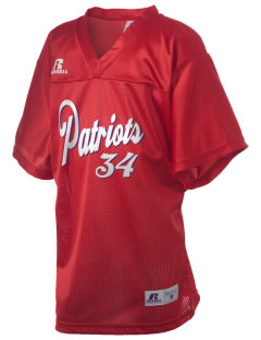 Portsmouth High School Patriots Russell Kid's Replica Football Jersey