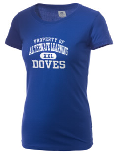 Alternate Learning School Doves  Russell Women's Campus T-Shirt