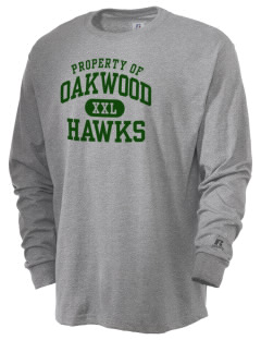Oakwood High School Hawks  Russell Men's Long Sleeve T-Shirt