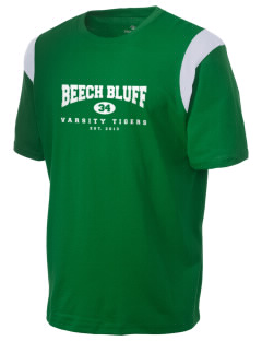 Beech Bluff Elementary School Tigers Holloway Men's Rush T-Shirt