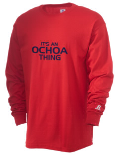 Ochoa Middle School Rockets  Russell Men's Long Sleeve T-Shirt