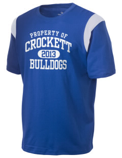 Crockett Elementary School Bulldogs Holloway Men's Rush T-Shirt
