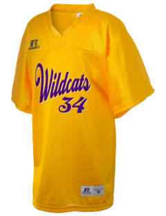 Carrizo Springs High School Wildcats Russell Kid's Replica Football Jersey