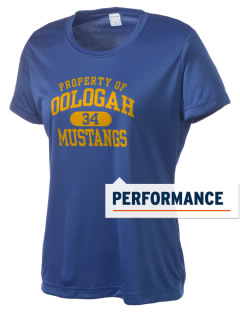 Oologah High School Mustangs Women's Competitor Performance T-Shirt
