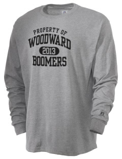 Woodward Senior High School Boomers  Russell Men's Long Sleeve T-Shirt