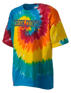 Crook County High School Cowboys Kid's Tie-Dye T-Shirt