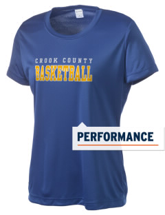 Crook County High School Cowboys Women's Competitor Performance T-Shirt