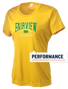 Fairview Elementary School Falcons Women's Competitor Performance T-Shirt