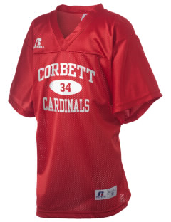 Corbett Middle School Cardinals Russell Kid's Replica Football Jersey