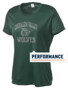 Chehalem Valley Middle School Wolves Women's Competitor Performance T-Shirt