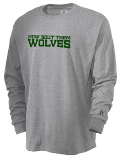 Chehalem Valley Middle School Wolves  Russell Men's Long Sleeve T-Shirt