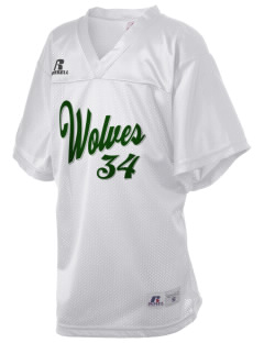 Chehalem Valley Middle School Wolves Russell Kid's Replica Football Jersey